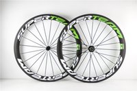 Wholesale Hot sale mm clincher carbon wheelset with superteam decal matte or glossy k wheels ems
