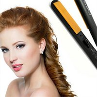 Wholesale 2016 Branded Hairstyling Flat Iron Pro quot Ceramic Ionic Tourmaline Flat Iron Hair Straightener Brushes with Retail Box