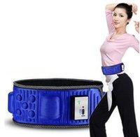 Vibrating slimming belt Avis-Massager rechargeable Slim taille de ceinture électrique Slimming Massager Perte Ceinture Vibrant Fat Burning Poids Massager Ceinture