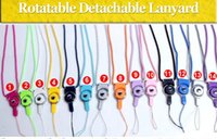 Wholesale Universal Detachable Lanyard For Phone Neck Strap Ring Lanyard Hanging Charms Security Badge Chain For Cell Phone MP3 Flash Drives ID Card