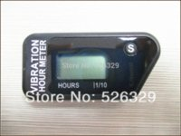 Wholesale Resettable LCD Wireless Vibration Hour Meter for chainsaw pit bike dirt quad bike lawn mower snowmobile ATV marine