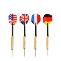 Wholesale 2016 Hot sale High quality Electroplate Copper Steel Needle Tip Darts Leisure Sports Games Darts Family Party Games