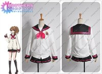 Wholesale Brothers Conflict Ema Hinata Cosplay Costume Custom Made any size W0251