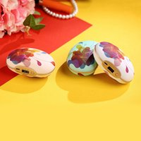 best gifts bank - Mini Virbration Peas Shape Hand Warmer USB Power Bank mAh rechargerable for Mobile Phones Best Gift for Parents Children Friends