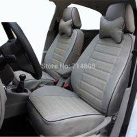 Asiento de coche cubre cuero de la PU ajuste apropiado para Audi A4 b6 sistema completo mismo estructura y diseño automóvil de cuatro estaciones