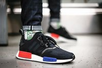 Cheap Original Adidas NMD Runner Mid City Sock For Women Mens Running Shoes Mesh Summer Breathable Sneakers Black White Size 36-46 Cheap Free Ship