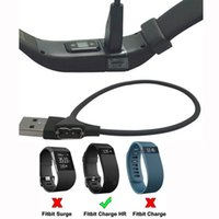 HR charge cable damaged - 30cm USB Charger Charging Cable For Fitbit Charge HR Smart Wristband Replacement for lost or damaged cables