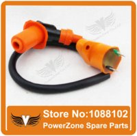 Cheap Unlimited AC Fired CDI(6pin)+ Ignition Coil Fit GY6 50CC 125cc 150cc 200cc Motorcycle Scooter ATV Quad Buggy Free Shipping