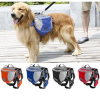 Wholesale 2016 New Oxford Clothing Dogs Backpacks for Hiking or Camping L M size Dogs Bag Dhl C072