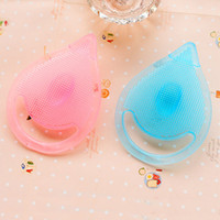 baby scrub brush - Cleaning Pad Wash Face Facial Exfoliating Brush SPA Skin Scrub Cleanser Tool Silicone Baby