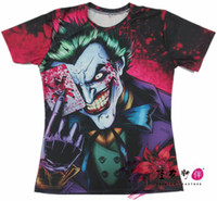 animated male - Peter s joker comic art animated cartoons HD Summer Style Mens T Shirts Fashion Breathable Short Sleeve Shirt For Male US SIZE