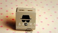 bad makeup - Handmade popular tv show Breaking Bad wood box Walter White portrait container storage box makeup box novelty present