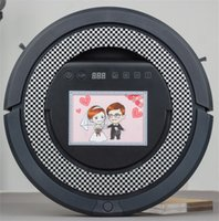 Wholesale New Arrival IR Remote Control Robotic vacuum cleaner Dust Detection UV Sterilization Sides Rolling Brush Robot Cleaner