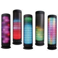 audio parties - Portable Bluetooth Speaker Wireless Speakers Colorful LED Light Speakers Outdoor Party Speaker TF Card MP3 Player dream speaker