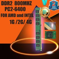 Wholesale Brand New Sealed DDR2 PC2 GB GB GB Desktop RAM Memory compatible with DDR MHz MHz In Stock
