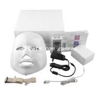 Wholesale Korean LED Photodynamic Facial Mask Home Use Beauty Instrument Anti acne Skin Rejuvenation LED Photodynamic Beauty Masks Colors