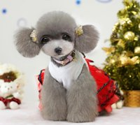 Dresses Spring/Summer Chirstmas High Quality Dog cloghtes of bodycon dresses new arrival christmas for costumes dog mascot costumes adults