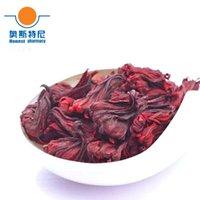Wholesale 50g Chinese herb tea organic dried Hibiscus Flowers tea roselle tea