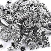bali mix - 70 Piece Bali Style Jewelry Making Metal Bead Caps Deluxe New Mix gm Antique Silver