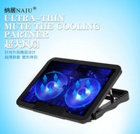 air cooler stand - Laptop Cooling Pads USB interface stand for laptop Cooler Notebook Stand Laptop Cooling Pad Radiator Two Big Fan High Quality