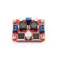 Voltage Regulator automatic steps - Double chip LM2577S LM2596S DC DC Automatic step up and step down module wide adaptation solar panels