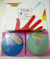 Wholesale Baby Signing Time Full Collection disk Music CD DHL free