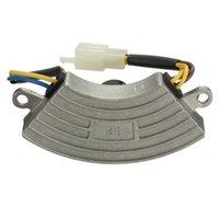 automatic voltage regulator avr - Grey Shockproof KW Generator Petrol Automatic Voltage Regulator AVR Aluminum Shell