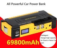 auto starter motors - New mAh and mAh Car jump starter Great discharge rate Diesel Auto power bank for car Motor vehicle booster start jumper battery