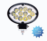 Wholesale oval led auto light system w led work light for truck LEDs offroad working lamp