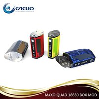 battery powered quads - Ijoy Maxo Quad Box Mod Kits W TC Temperature Control MAXO QUAD Vape Mod Powered By Batteries Original