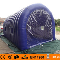 Wholesale PVC Inflatable Outdoor Camping Tent With Free CE blower
