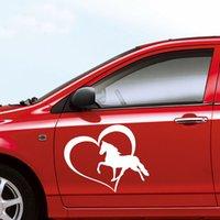 Cheap Personalized Sticker Car Stickers Best Head Cartoon Heart Horse Car Stickers