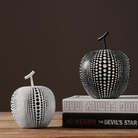 apple articles - Pure Handmade Crafts and arts New Design Top Quality Archaize Resin Apple Furnishing Articles Resin home Decoration of Small Resin Apple Hom