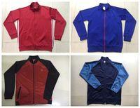 best men s coats - Whosales MaNchEsTer Kun Aguero jacket Traning Jacket long track Coat Suit Survetement Coat best thai FULL Ibrahimovic Pogba Unitedd