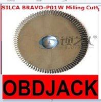 bianchi steel - Original Raise Tungsten steel double angle cutter machine milling cutter SILCA BRAVO P01W keys BIANCHI DUO locksmith