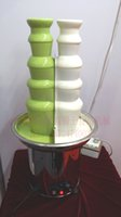 Wholesale Double Color Tiers Chocolate Fountain Machine For Commercial Use Good Quality