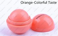 Wholesale 6 color New Fashion Round Ball Natural Organic Embellish Lip Balm for Girl Chapstick Lip Care