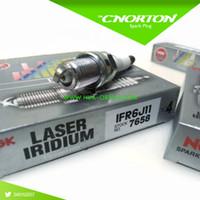 auto sparks - Set NGK IFR6J11 Laser Iridium car spark plugs for suzuki Jimny Swift auto candle