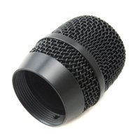 ball microphone - Export Version Replacement Wireless Microphone Head Mesh metal Grill Mic Grille Ball type for U866