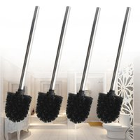 best bathroom cleaner - Best Promotion Replacement Black Stainless Steel Wc Bathroom Toilet Brush Head Holders Cleaner