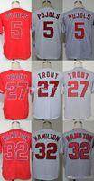 albert black - 2015 Fashion New Los Angeles Kids Youth Authentic Cool Base Albert Pujols Mike Trout Josh Hamilton Baseball Jersey