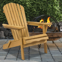 Wholesale Outdoor Wood Chair Foldable Patio Lawn Deck Garden Furniture