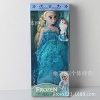 baby genius music - XAYA Snow baby doll with music Xuebao Princess Aisha Anna joint movable foreign trade toys