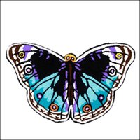 Wholesale New Handmade Butterfly Shaped Mat Colors Living Door Mats Novelty Embroidered Porch Doormat Floor Carpet Kitchen Rugs Gift Home Textile