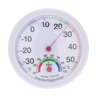 Wholesale Mini Indoor Analog Temperature Humidity Meter Instruments Thermometer Hygrometer termometre station meteo estacion metereologica