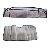 Wholesale New Casual Foldable Universal Car Windshield Visor Cover Front Rear Block Window Sun Shade