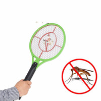 Wholesale practical rechargeable electric insect mosquito flyswatter bug bat anti mosquito killer outdoor BBQ camping Hiking A DW