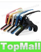 Wholesale LAI Hot selling Big Classical Guitar capo Guitar accessories Large metal capo colours Mix order Free Shiping