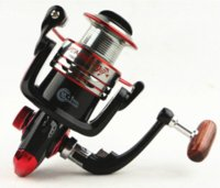 Wholesale MH1000 BB Fishing Spinning Reel with metal spool good painting retrieval ratio Good Reels for Fishing