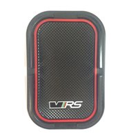 amg car mats - Soft Rubber With Car Logo Anti slip Mat Case For Sline RS AMG VRS for Car Accessories Anti slip Pad